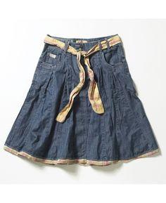 """""""Joe Browns"""" Joe Browns Denim Skirt at Simply Be"""