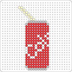 Can hama perler pattern