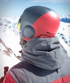 Soundshield by Unit 1 will revolutionize your action sports experience, it combines helmet and headphones in one sleek package. Soundshield has a patented docking system that secures the headphones inside the helmet, simply dock them into the helmet