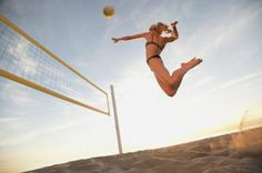 How to Train Your Legs for Beach Volleyball