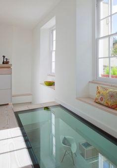 Konstruktive Glasbauplatte Doppelboden-Küche architektonisches-Highlight