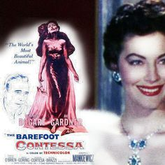 """"""" there is one thing Maria will never compromise - her soul."""" The Barefoot Comtessa, 1954. Directed by Joseph L. Mankiewicz. Starring Humphrey Bogart, Ava Gardner."""