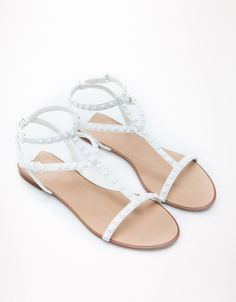 Bershka Kuwait - Bershka studded sandals