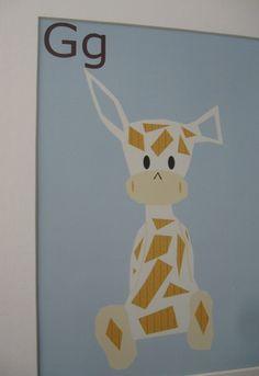 Giraffe art