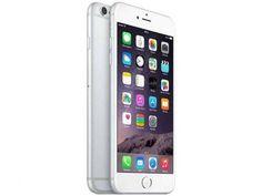 """iPhone 6 Plus Apple 64GB 4G iOS 8 Tela 5.5"""" - Câm. 8MP Proc. A8 Touch ID Wi-Fi GPS NFC Prata com as melhores condições você encontra no Magazine Tonyroma. Confira!"""