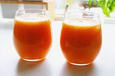 Inspirationskit for livsnydere: Lækker friskpresset juice på frugter og grøntsager...