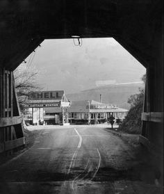 View from inside Kennedy Tunnel (later renamed the Caldecott Tunnel). March 12, 1934