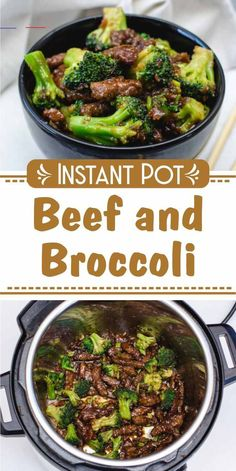 Instant Pot Beef and Broccoli - #beefandbroccoli - Wanna make Instant Pot Beef and Broccoli? My name is Corrie Cooks and I am here to help! Oh and I also have 1076+ FREE pressure cooker recipes especially for you :)... Best Instant Pot Recipe, Instant Recipes, Instant Pot Dinner Recipes, Recipes Dinner, Crock Pot Recipes, Chicken Recipes, Soup Recipes, Recipes For Beef, Easy To Make Recipes