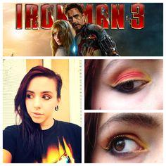Iron man make up