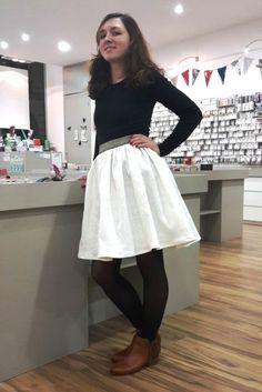 tuto couture jupe froncée elastique pik et kou atelier de la creation