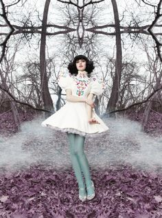 Kimbra by Thom Kerr. ♥ (P.S. I need bigger versions of these STAT!)