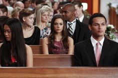 Pin for Later: Flashback: All the One Tree Hill Weddings Brooke and Julian's Wedding Alex does not look cool with this wedding. It might have something to do with the fact that she's in love with the groom.