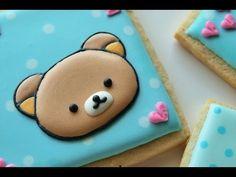 How To Decorate A Rilakkuma Cookie