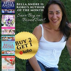 Bella Andre's Kobo Author of the Month Giveaway!