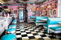 Rock-Cola 50's Cafe, Indianapolis, Indiana, USA
