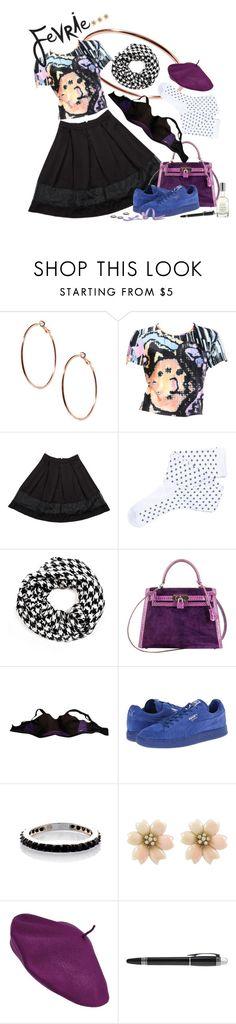 """""""It's cause he's so dense."""" by giddyhill ❤ liked on Polyvore featuring ASOS, Christian Lacroix, Fevrie, Hermès, Freya, Puma, Parkhurst, Montblanc, Fresh and FevrieFashion"""