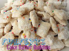 Cake Batter Chex Mix. HAPPY BIRTHDAY, KALAKI!!!
