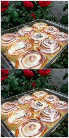 Синнабоны… Этот рецепт люблю за его простоту и быстроту приготовления! Pancakes, Pudding, Pie, Cookies, Baking, Breakfast, Food, Arroz Con Leche, Recipes