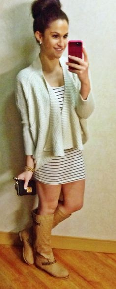 Cute outfit-needs tights to be a complete fall outfit