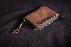 Zipper wallet. Zip wallet