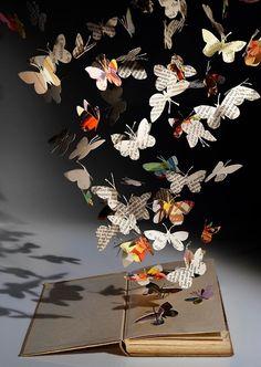 Paper butterflies...beautiful