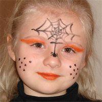 Diy maquillage facile citrouille halloween pour fillette id es conseils et tuto halloween - Maquillage sorciere fillette ...