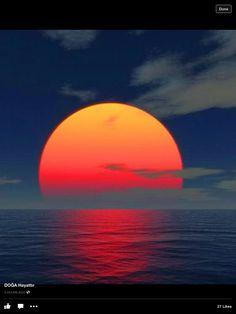 Beautiful sunset Astrology Rising Sign, Aquarius Rising, Sun Sign, Heaven On Earth, Moonlight, Dj, Sunrise, Wonders Of The World, Planets