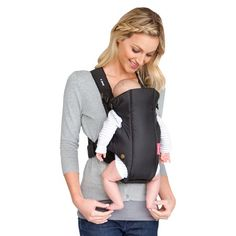 606414702c9 Infantino Swift Soft Baby Carrier - Black