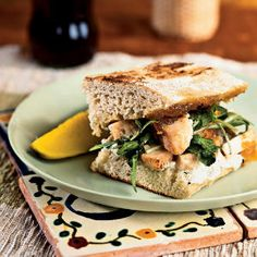 Fantastic Fig Recipes | Chicken Panini with Fig Jam | CookingLight.com