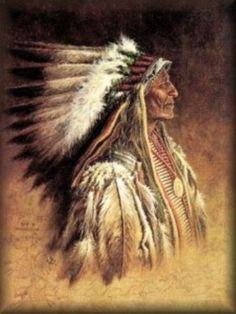 Native American Spiritual Beliefs | Guerreiro Sioux - O pai leva o filho para a floresta no final da ...