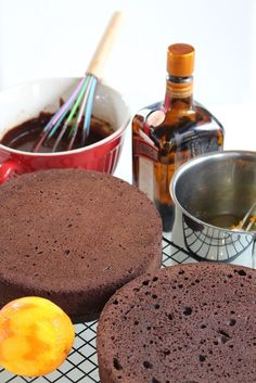 Grundrezept für Motivtorten: Victoria Sponge Cake, Buttercreme, Ganache und Sirup