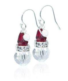Cute Santa Earrings