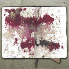 rougart drawing: LIGHT MAP_Collage, 2018_Mariasun Salgado