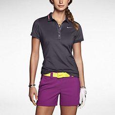 278861363442f9 Nike Icon Swoosh Tech Women s Golf Polo Womens Golf Polo