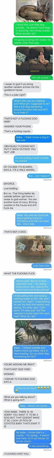 10+ Hilarious Text Messages About Husband vs, Wife...