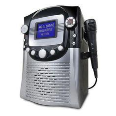 Host your next #karaoke party with the sleek Singing Machine CD+G Karaoke Player with 5 free karaoke downloads - http://go.shpf.nl/VKcKKb #music