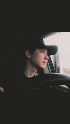 Why do men look so attractive while driving Luhan, Chanyeol Cute, Park Chanyeol Exo, Chanbaek, Chansoo, Baekyeol, K Pop, Kpop Exo, Woozi