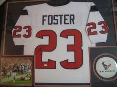 Arian Foster Houston Texans Autographs