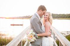 Romantic Pink, Peach + Sea Green Wedding at Oak Point Plantation on the Stono in Charleston SC // Dana Cubbage Weddings // Charleston SC + Destination Wedding Photographer