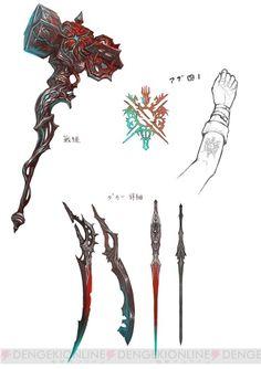 『よるのないくに』アーナスが操るさまざまな武器を紹介。オススメの戦い方や従魔編成例も掲載