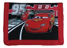Disney Pixar Cars Lighting McQueen Kids Trifold Wallet ** Want additional info? Click on the image.
