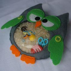 Owl spy bag или сова-искалка - Рукоделие - Babyblog.ru