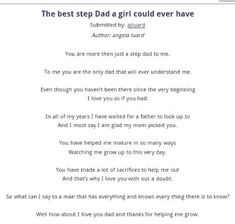 65 Best Step Dads Rock!! images | Dads, Dad rocks, Dad quotes