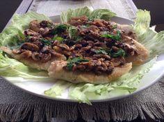 Filetti di merluzzo con i funghi!