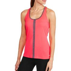 f77a117f76850 Avia - Women s Active Fashion Texture Tank with Back Straps - Walmart.com.  Plus Size WorkoutRunning ...