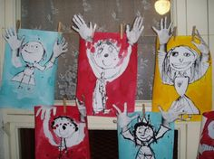 Výtvarné práce dětí