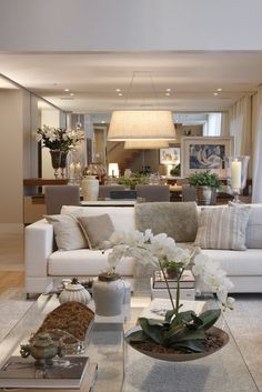 35 super stylish and inspiring, neutral living room designs - Home Decorations Home Living Room, Apartment Living, Living Room Designs, Living Room Decor, Decor Room, Cozy Apartment, Apartment Ideas, Living Spaces, Bedroom Decor