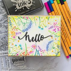 Juhi Khanna (@juhikhanna) • Instagram photos and videos Notes, Ink, Photo And Video, Handmade Cards, Projects, Free, Instagram, Videos, Craft Cards