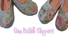 Sew Ballet Slippers – Sew, What's New?