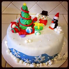 Winter Wonderland Cake!